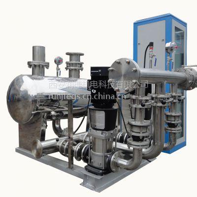 宝鸡恒压变频供水设备 宝鸡材质不锈钢304 人机界面变频恒压控制柜 RJ-R20