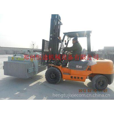 供应郑州恒途抱砖机设备讲解加气混凝土砌块设备不同风格