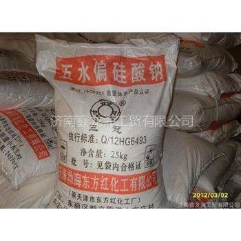 供应山东济南三冠牌五水偏硅酸钠 价格优惠 厂家直销 天津