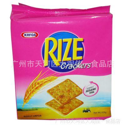 香港卡夫梳打饼干芝麻味420g*16包/组