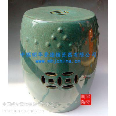 瓷凳 陶瓷凳子 景德镇瓷器1222