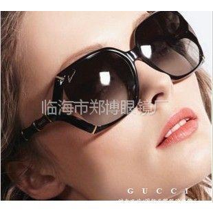 供应2013新款热销女士个性太阳镜 户外偏光镜 竹节款时尚墨镜