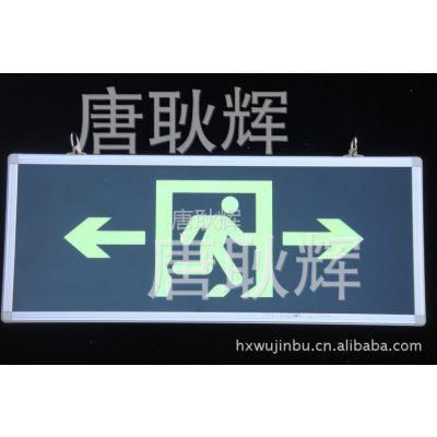 供应派拿斯特荧光式 应急指示牌灯 自发光安全出口 标记灯 双方向