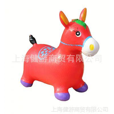 工厂直销皮马充气动物 彩绘音乐马 PVC跳跳马跳跳鹿更多款式可选