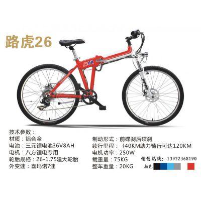 供应广州绿鸥山地变速锂电池电动自行车
