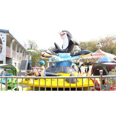 嘉信游乐设备高质量好玩激战鲨鱼岛