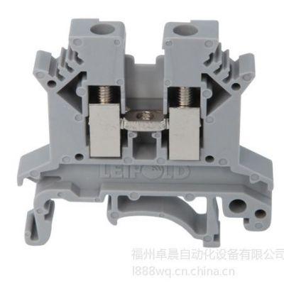 供应上海雷普JUK通用接线端子JUK2.5B-BU 接线端子2.5mm2 蓝色 6.2mm厚