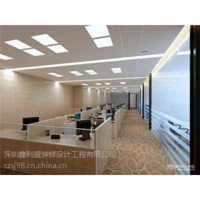 厂房装修刷墙、深圳石岩装修、石膏板玻璃隔墙