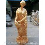 厂家定做 欧式人物雕塑,欧式女性雕塑,玻璃钢雕塑