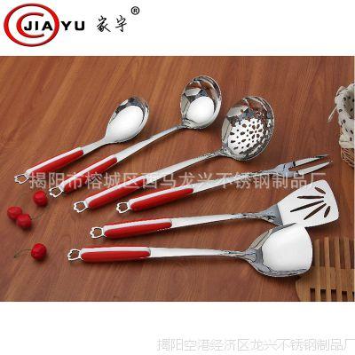 不锈钢厨具 烹饪铲勺套件 不锈钢厨房用品 厨具礼品套装 厂家直销