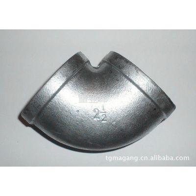 供应厂家特供优质 热镀锌 太谷玛钢管件 消防管件 弯头