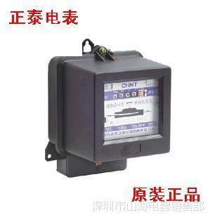 供应正泰 单相电度表 家用  机械电能表 DD862 3-6A(带防伪查询码)