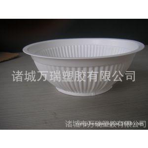 供应一次性油渣用PP塑料碗,扣肉碗,通过QS认证的塑料碗
