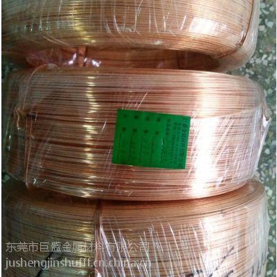 批发优质红铜铆料线、铜极柱端子用红铜线