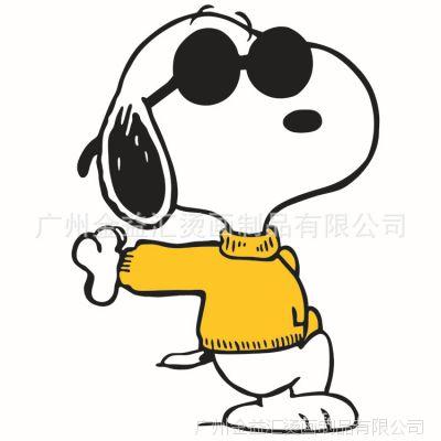 广州烫画厂 供应15年流行烫钻、烫图 史努比狗狗烫画 史努比烫图