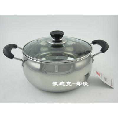 供应不锈钢明珠汤锅/纯不锈钢/18cm-24cm/承接来样定制