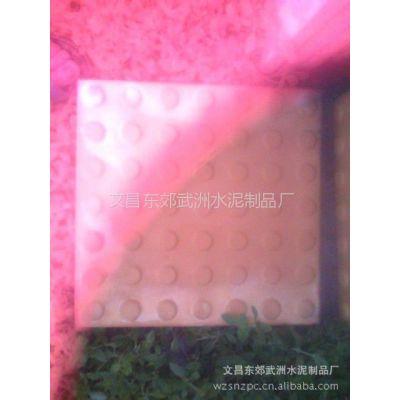 武洲水泥制品厂供应砖瓦及砌块,规格230*115*50高质量的盲道砖
