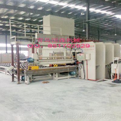 国森机械速生杨木单板胶合层积材方木生产工艺设备