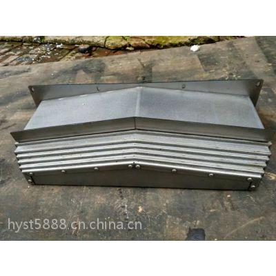 钢板伸缩式防护罩,国内优质钣金防护罩,钢制伸缩保护套,青岛生产厂家