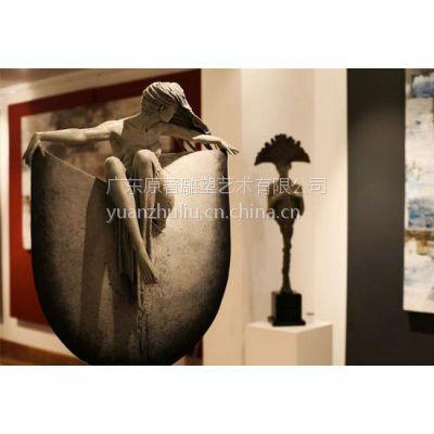 厂家直销人体铸铜雕塑 女性雕像 定制人物雕塑选择广东原著