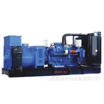 广东星光厂家展示1300KW奔驰发电机组的详细参数