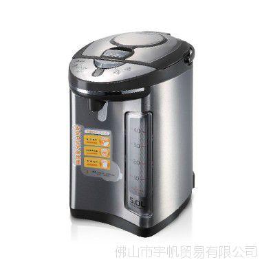 Midea/美的PF301-50G电热水壶水瓶不锈钢热水壶开水煲电正品5l
