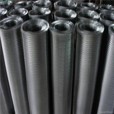 银粉钢板网定做 不锈钢钢板网 小孔菱形耐热不锈钢网