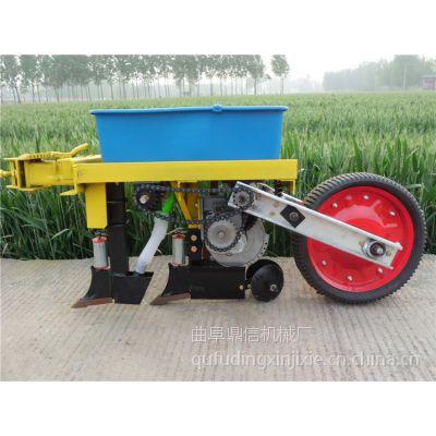 鼎信多功能免耕玉米播种机 轮式玉米播种机