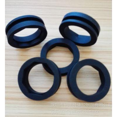 YF0720深圳加工定制硅胶异形件橡胶密封件