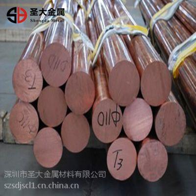 TU2紫铜棒 进口紫铜棒 无氧紫铜棒 紫铜棒价格 紫铜棒厂家
