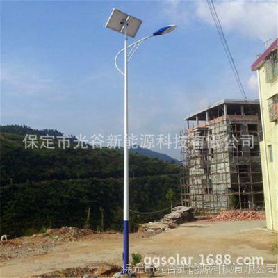 单臂路灯 5米LED太阳能路灯 厂家直销 加工定制