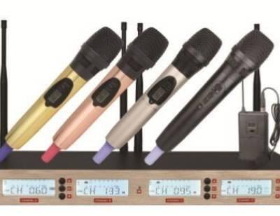 供应300米无线麦克风 无线会议一拖八话筒报价 500米远程无线话筒厂家
