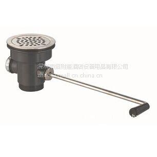 供应PRE RINSE WV-3170P 塑料排污阀 塑料下水 整套下水 商用厨房配件 厨房排污阀