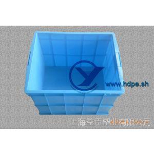 供应600塑料PE周转箱600*450*400各类规格箱筐