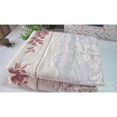 供应金号毛巾被 特大双人纯棉毛巾被毛毯 空调被 浪漫情怀G4005