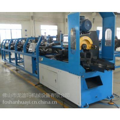 供应LDM牌全自动切管生产线(350型自动切管机连体自动去毛刺机)