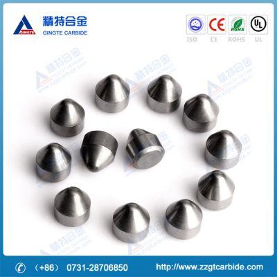株洲精特专业生产高耐磨硬质合金矿山、油田钻头用球形齿,平顶球形齿
