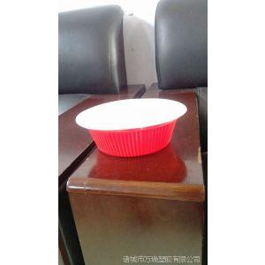 供应一次性1000ml双色塑料面碗/非油炸面塑料碗/拌面碗