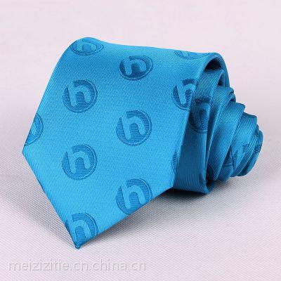 企业标记领带LOGO礼品领带定制