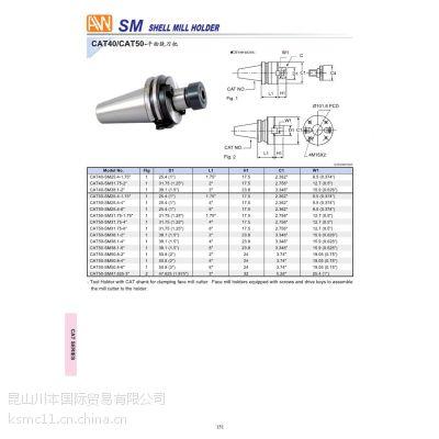 台湾安威 AW 平面铣刀柄 CAT40-SM22-100