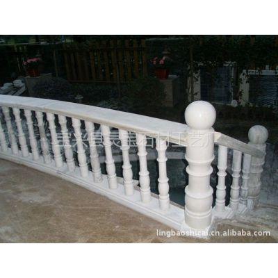 供应白色大理石系列汉白玉栏杆