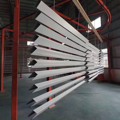 装饰工程材料U型铝方通吊顶 木纹转印U型铝方通_欧百得