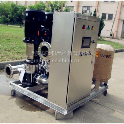 西安无负压供水设备 西安生活供水泵房供水设备安装维修 RJ-S115