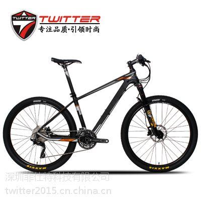 碳纤维自行车TW8900XC越野山地车26寸禧玛诺油刹30速