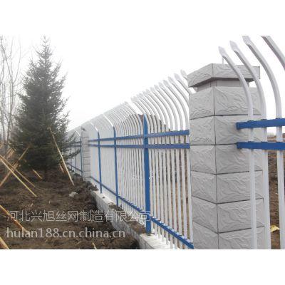 厂区带弯头防攀爬的方管围墙栏杆多少钱