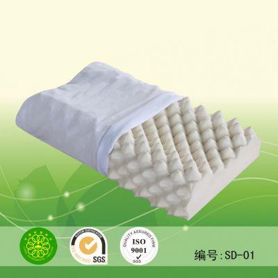 供应 天然乳胶枕头 深度按摩枕 记忆枕 抱枕 靠枕