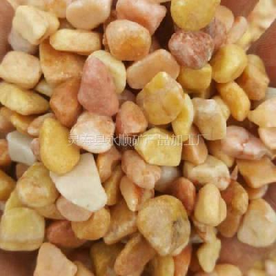 米黄色水洗石价格 北京永顺米黄色水洗石厂家 1-3 3-5 5-8 毫米