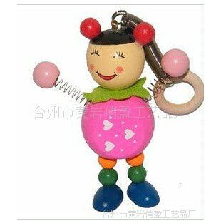 供应弹簧动物/木制玩具/木制工艺品/弹簧木偶