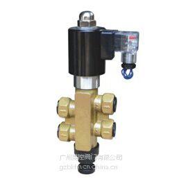 供应二位四通电磁阀,四通水用电磁阀,水用四通电磁阀