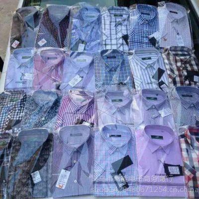 新款男士短袖衬衫 商务休闲男衬衫 时尚纯棉衬衣批发